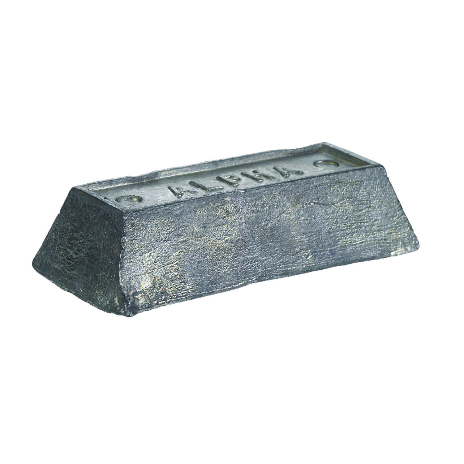 Alpha Fry  5 lb. Lead Ingot  100% Lead