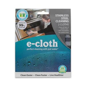 E-Cloth  Polyester, Polyamide/Polypropylene  Cleaning Cloth  12.5 in. W 2 pk