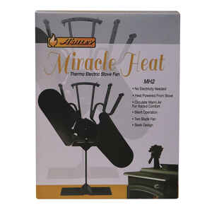 US Stove  Miracle Heat  Steel  Elegant  Stove Fan
