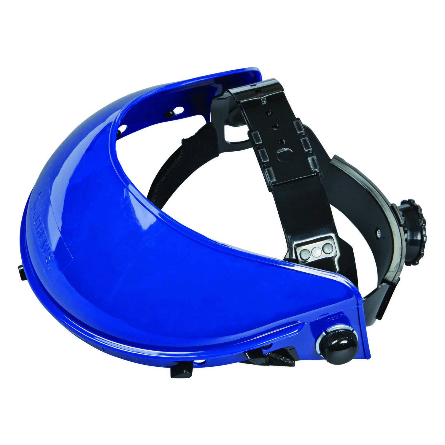 MCR Safety  Variable Shade  Polyethylene  Face Shield  1 lb. Blue  1 pc.