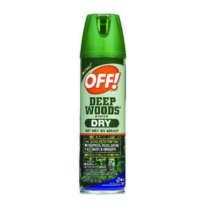 OFF!  Deep Woods  Insect Repellent  Liquid  For Gnats, Flies, Mosquitoes, Mosquitoes 4 oz.