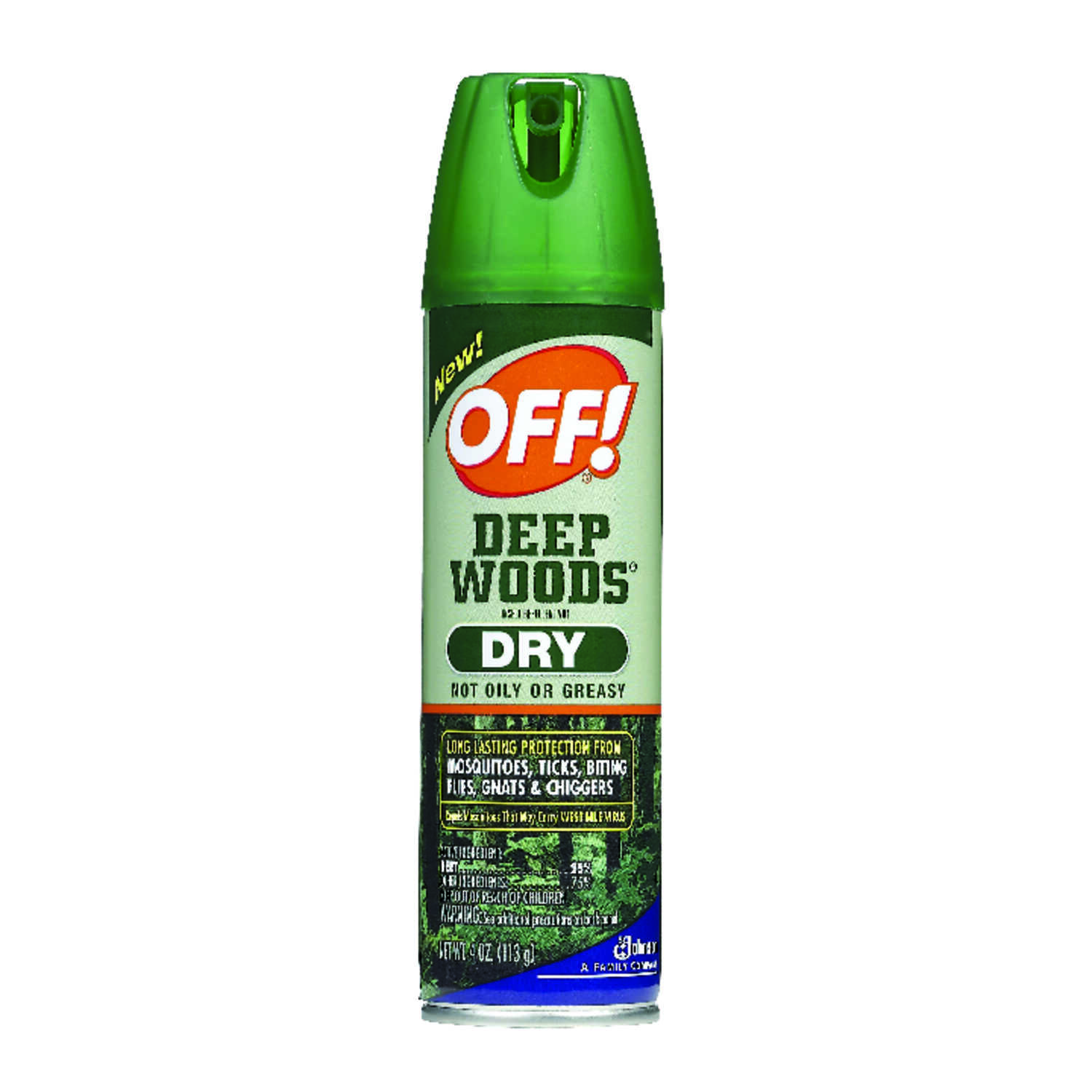 Deep Woods OFF!  Liquid  For Mosquitoes, Flies, Gnats, Mosquitos, Fleas, Flies, Gnats 4 oz. Insect R