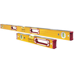 Stabila Aluminum Type 196 Box Beam Level Set 3 vial