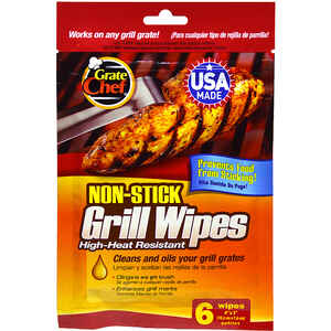Grate Chef  Disposable  Grill Wipes  7.5 in. H x 0.25 in. L x 5.5 in. W Synthetic Rubber