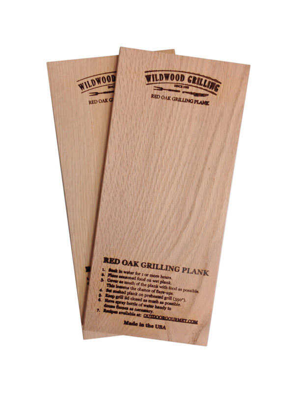 Wildwood Grilling  Grilling Planks  Red Oak Wood