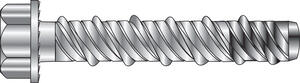 Hillman  1/2 in. Dia. x 3 in. L Zinc-Plated  Steel  Wedge Bit  20 pk