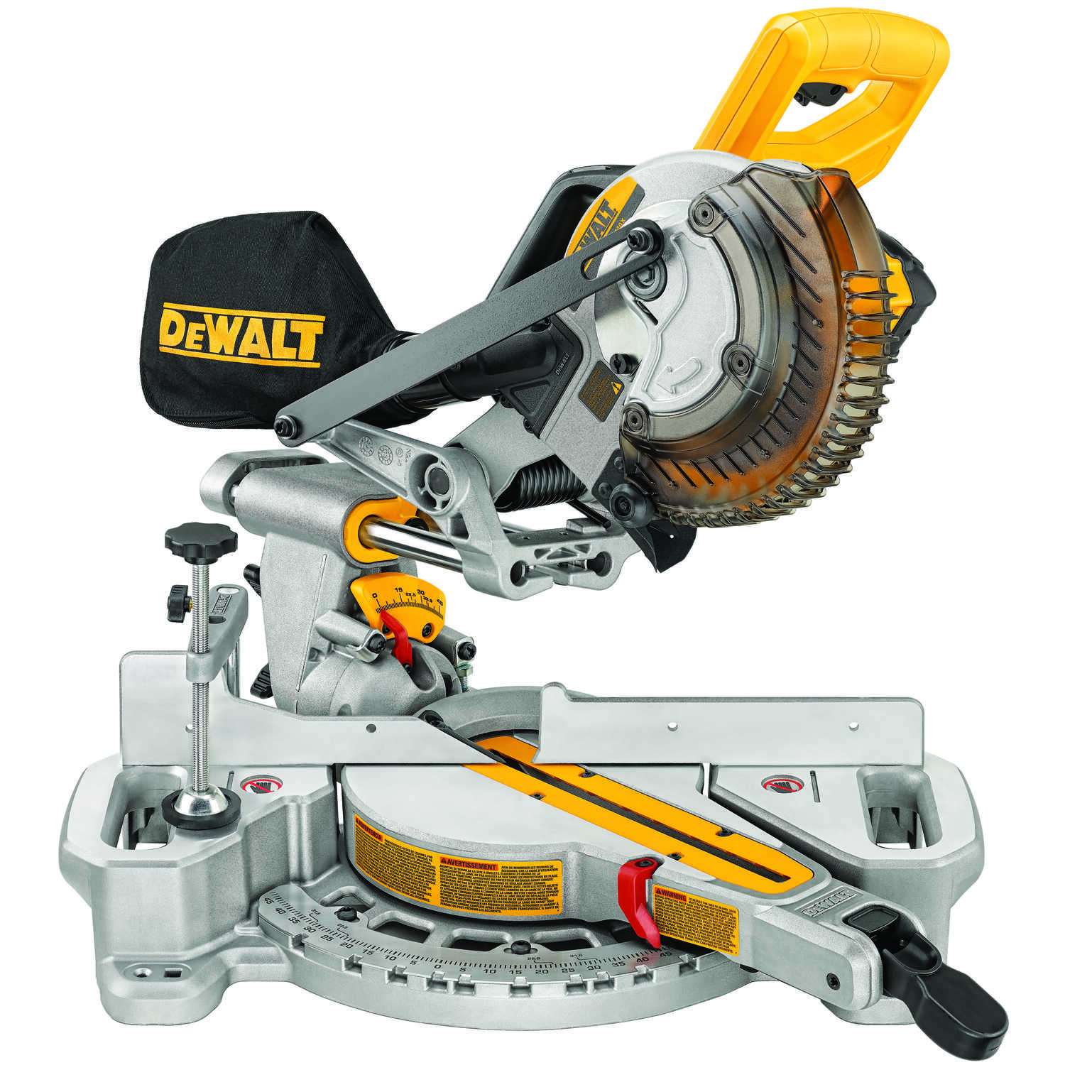 DeWalt 7-1/4 in. Cordless Miter Saw Kit 20 volt 20 amps 3,750 rpm