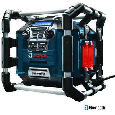 Bosch  Power Box  18 volt Lithium-Ion  Worksite Radio and Charger  1 pc.