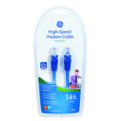 GE  14 ft. L Category 6  Modem Cables