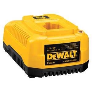 DeWalt  Lithium-Ion/Ni-Cad/NiMH  18 volts 1 pc. Battery Charger