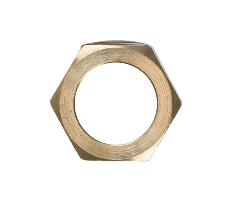JMF  7/8 in. Compression   Brass  Compression Nut