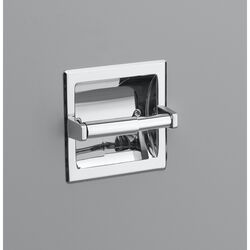 OakBrook Chrome Recessed Toilet Paper Holder