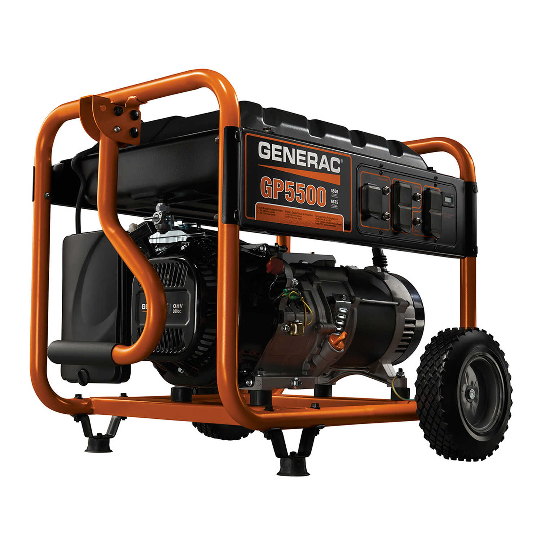 Generac 5500 Watts Portable Generator Ace Hardware
