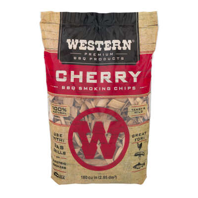 Western Cherry Wood Smoking Chips 180 cu. in.