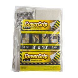 CoverGrip 8 ft. W x 10 ft. L 8 Canvas Drop Cloth 1 pk