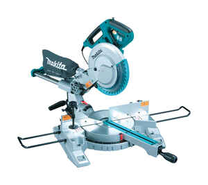 Makita  10 in. Corded  120 volts 13 amps 4,300 rpm Compound Miter Saw