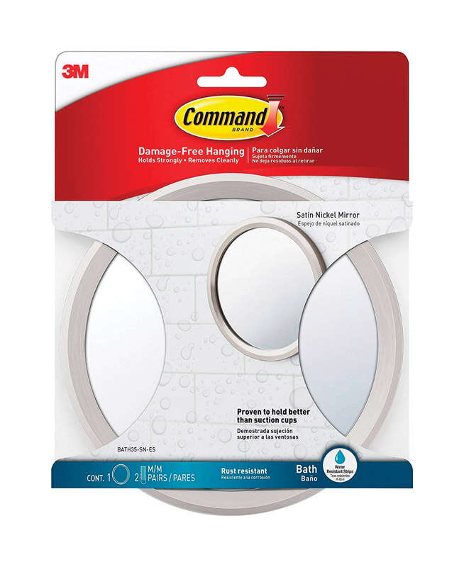 3M  Command  Small  Plastic  Adhesive Strips  6.82 in. L 1 pk