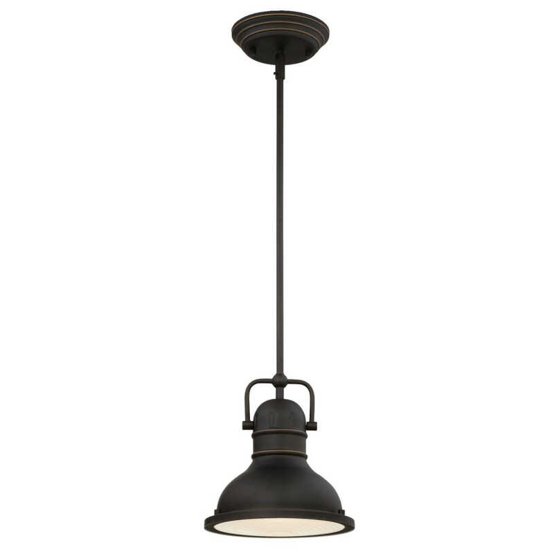 Westinghouse  Oil Rubbed Bronze  1 lights Mini Pendant Light