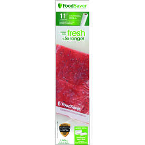 Foodsaver Vacuum Sealer Bags Clear 11 in. x 16 ft.