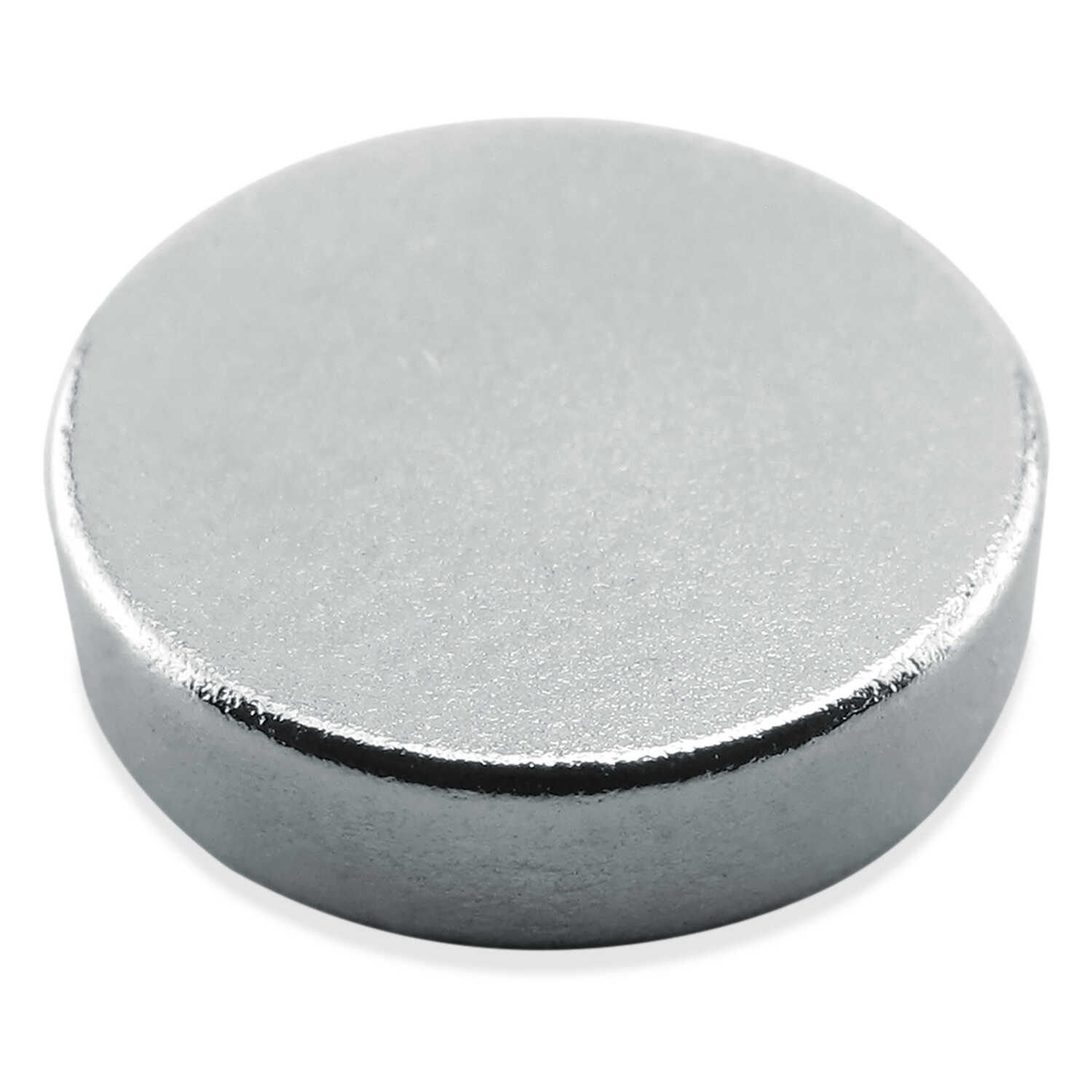 Master Magnetics  .118 in. Neodymium  Super Disc Magnets  4.3 lb. pull 35 MGOe Silver  6 pc.