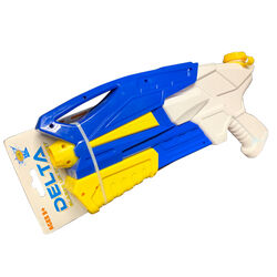 Delta  Blue/Yellow  Plastic  Water Gun
