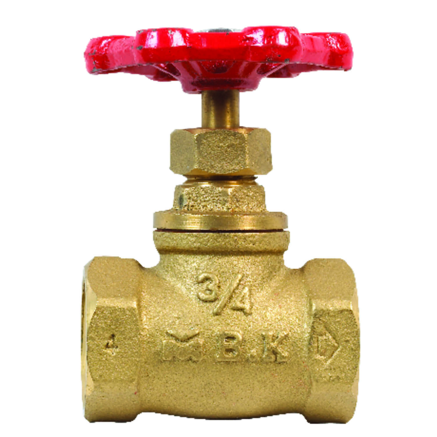 ProLine  3/4 in.  x 3/4 in.  Stop Valve  Stop and Waste  Brass