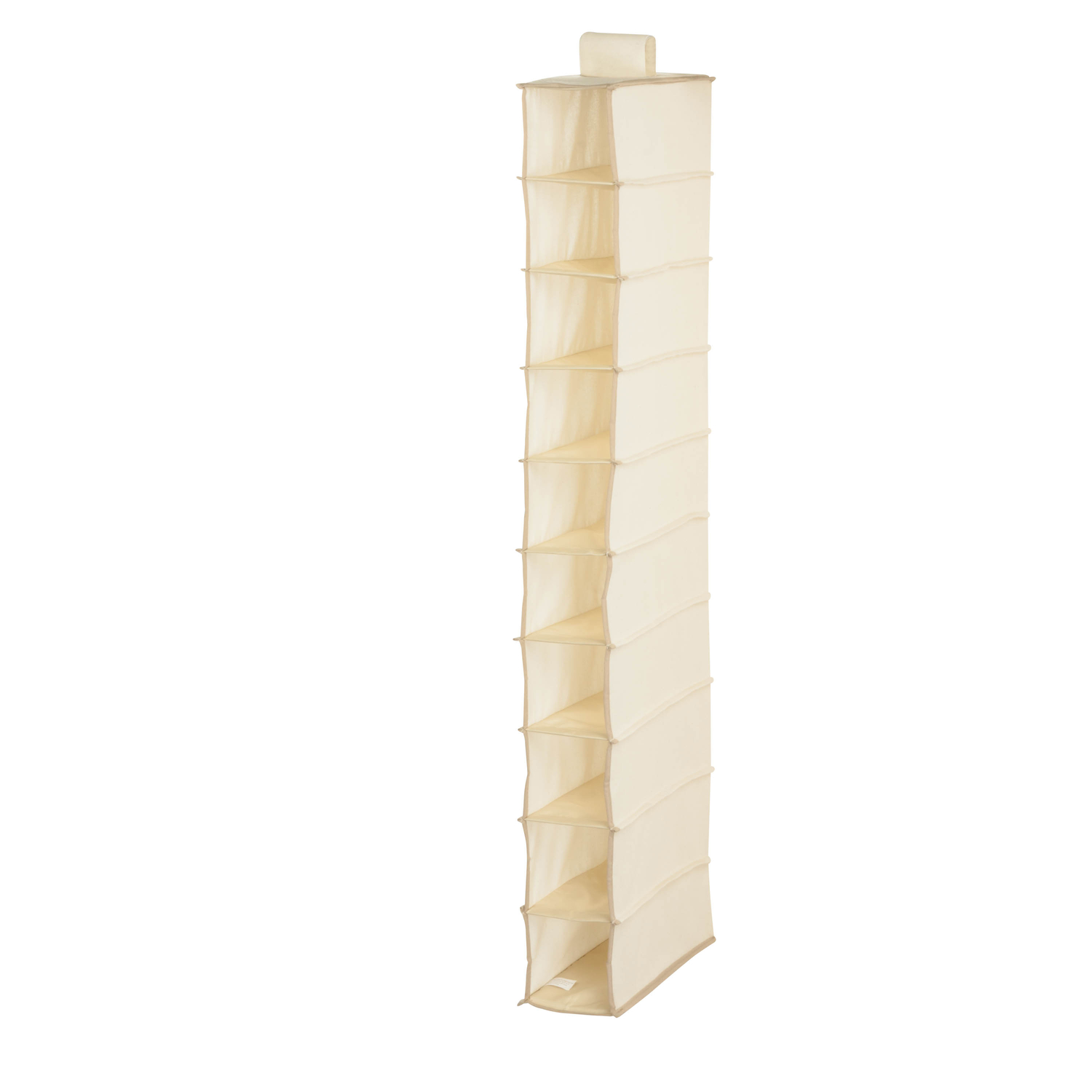 Honey Can Do  54 in. H x 6 in. W x 12 in. L Hanging Vertical Closet Organizer  1 pk Canvas