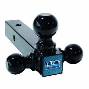 Reese  Towpower  Steel  Medium Duty  8 in. Tri-Ball Mount