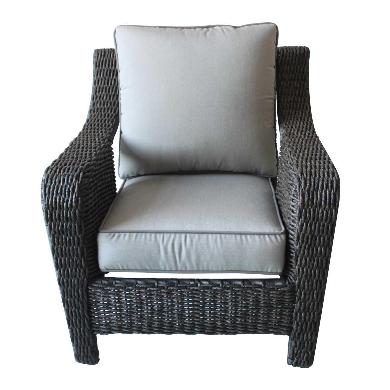Living Accents Metropolitan Patio Furniture: Living Accents Brown Aluminum Chair