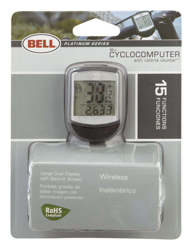 Bell Sports  Wireless  Composite  Bike Computer  Black