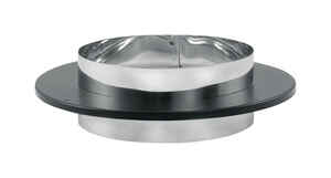 DuraVent  DVL  Stainless Steel  Stove Vent Pipe Adapter