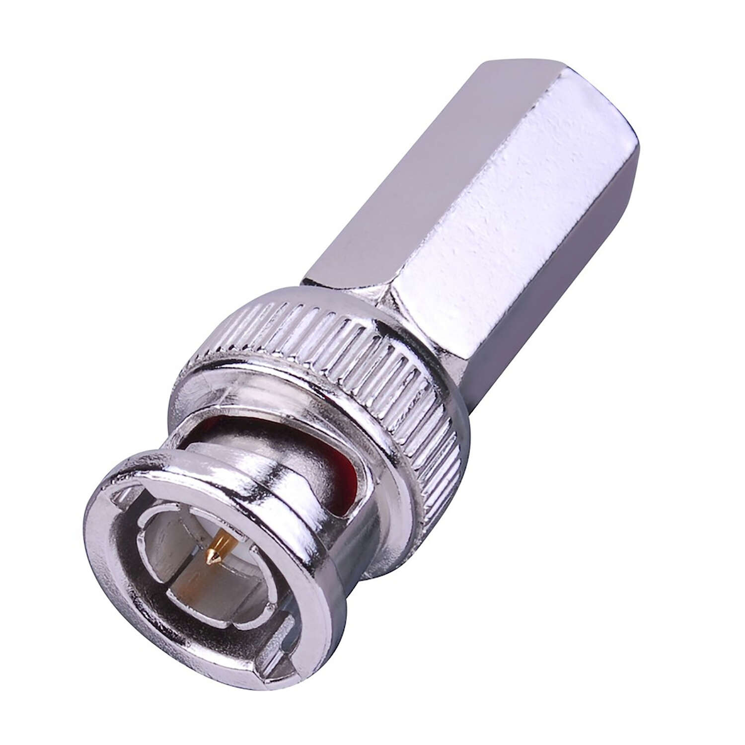 Just Hook It Up  Twist-On  RG59  Coaxial Connector  2 pk