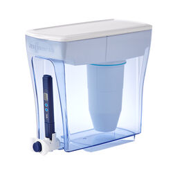 ZeroWater  Ready-Pour  160 oz. Blue  Water Filtration Pitcher