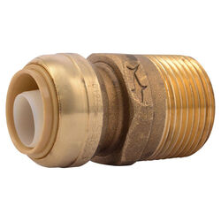 SharkBite  Push to Connect 3/4 in. Push   x 1 in. Dia. Male  Brass  Adapter