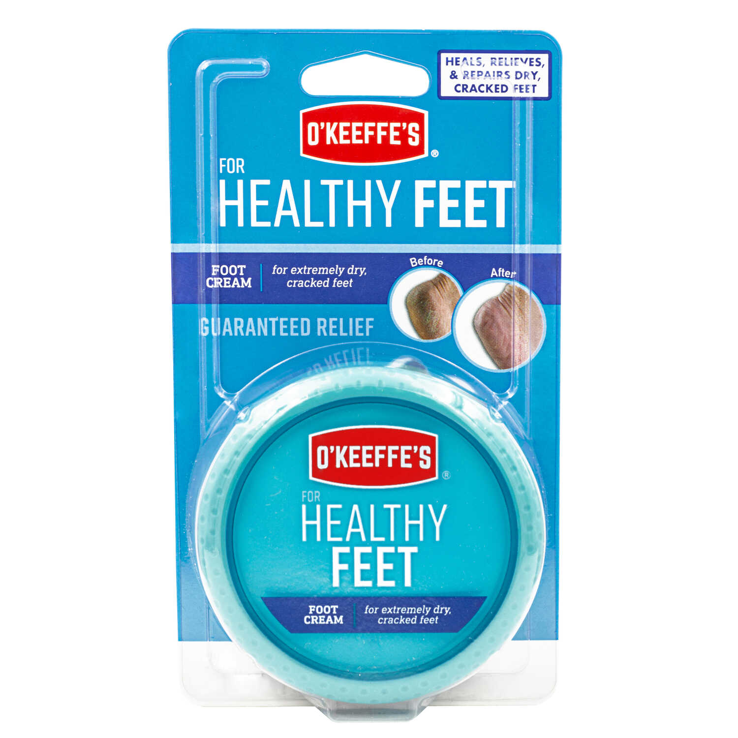 O'Keeffe's  Healthy Feet  No Scent Foot Repair Cream  3.2 oz. 6 pk