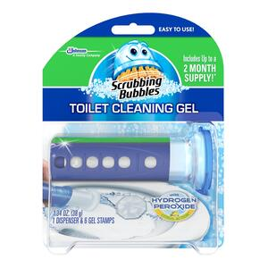 Scrubbing Bubbles  Citrus Scent Continuous Toilet Cleaning System  1.34 oz. Gel