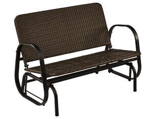 Living Accents  2-Seat  Steel  Glider  2