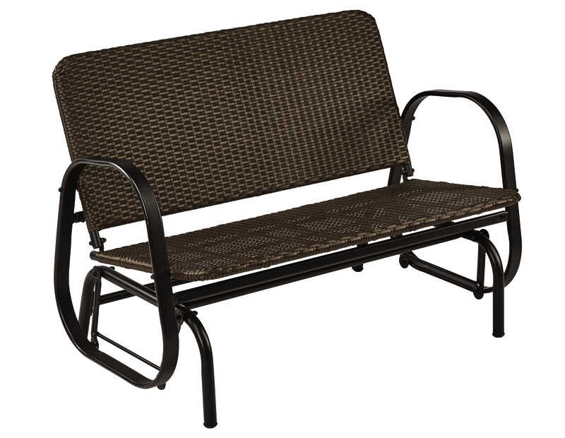 Living Accents  2-Seat  Steel  2  Glider  1 pc.