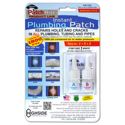 Highside  Patch Rite  Clear  Instant Plumbing Patch