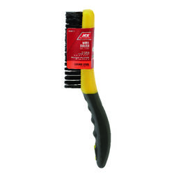 Ace  4 in. W x 10.25 in. L Carbon Steel  Wire Brush