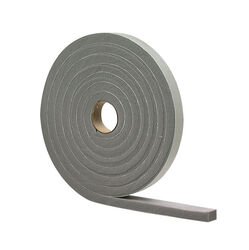 M-D  Gray  Foam  Weather Stripping Tape  For Windows 10 ft. L x 1/2 in.