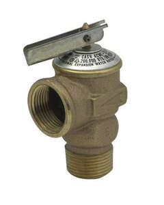 Cash Acme  3/4 in. Pressure Only Relief Valve  Pressure Only Relief Valve