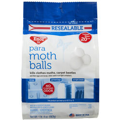 Enoz  Para Moth Balls  For Moths 20 oz.
