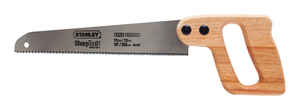 Stanley  SharpTooth  10 in. Carbon Steel  Hand Saw  12 TPI