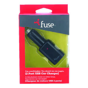 Fuse  USB Car Charger  1 pk