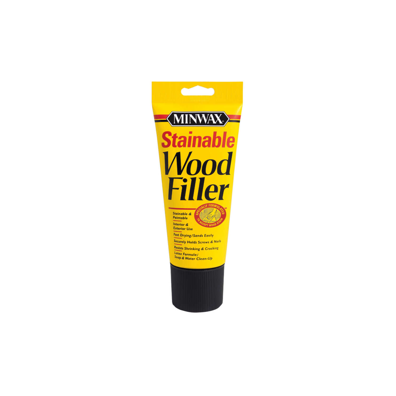 Minwax  Brown  Stainable Wood Filler  6 oz.