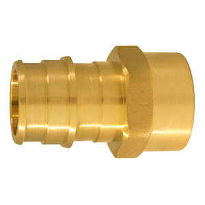 Apollo  Expansion PEX / Pex A  PEX   x 1/2 in. Dia. FPT  3/4 in. Female Adapter  5 each