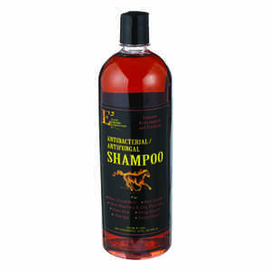 E3  Liquid  Antibacterial Antifungal Shampoo  For Horse 32 oz.