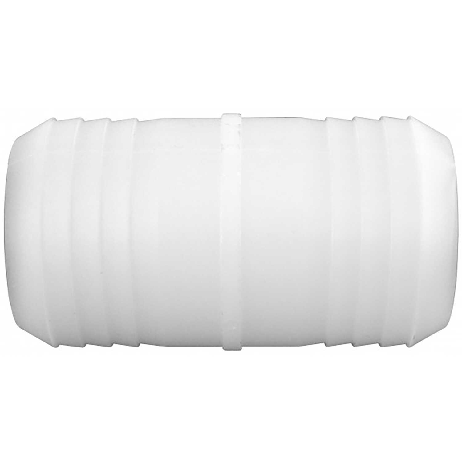 Green Leaf  Nylon  Hose Mender  1/2 in. Dia. x 1/2 in. Dia. White  1 each