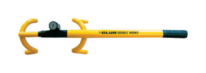 The Club  Yellow  Anti Theft Device  1 pk Fit Most Vehicles